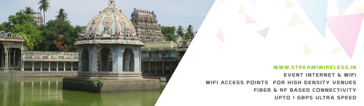 High Speed Event Temporary Internet and Wifi Service Provider vaitheeswarankoil