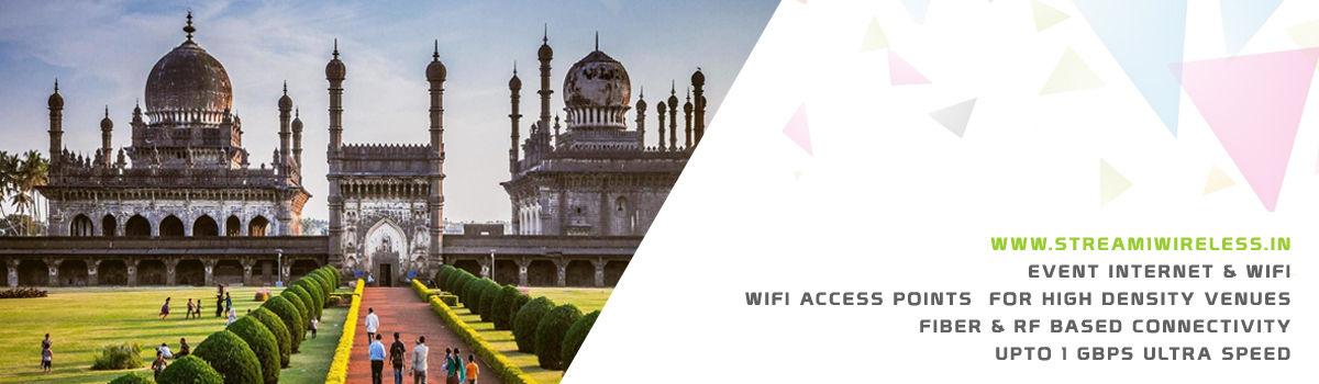 High Speed Event Temporary Internet and Wifi Service Provider vijayapura