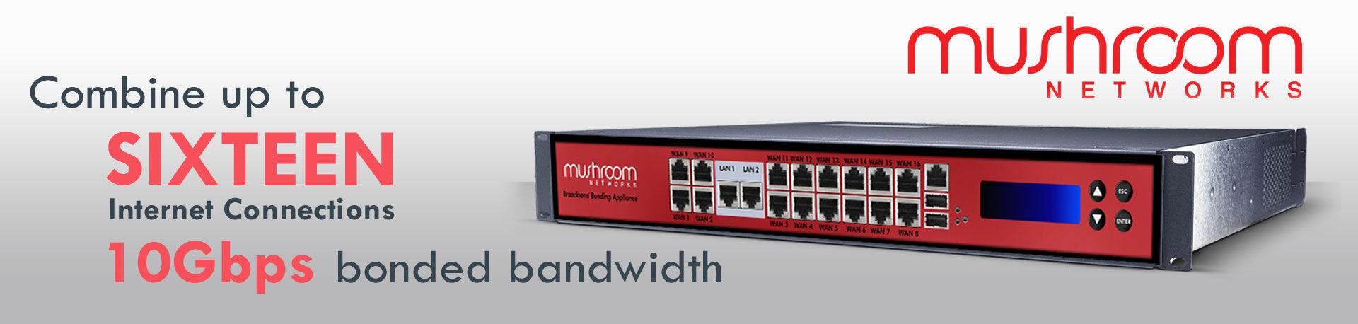 mushroom networks bonded internet