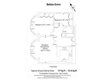 Belsize Grove web floorplan