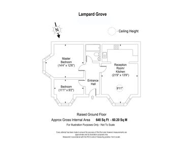 Lampard Grove web floorplan