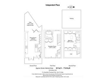 Independent Place web floorplan