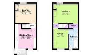 20 St Nicholas Street, Lincoln - Floor plan
