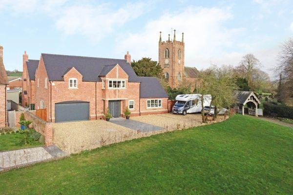 property Church View House, Seighford>