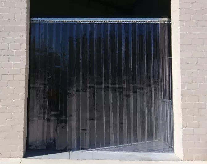 Warehouse divider curtain