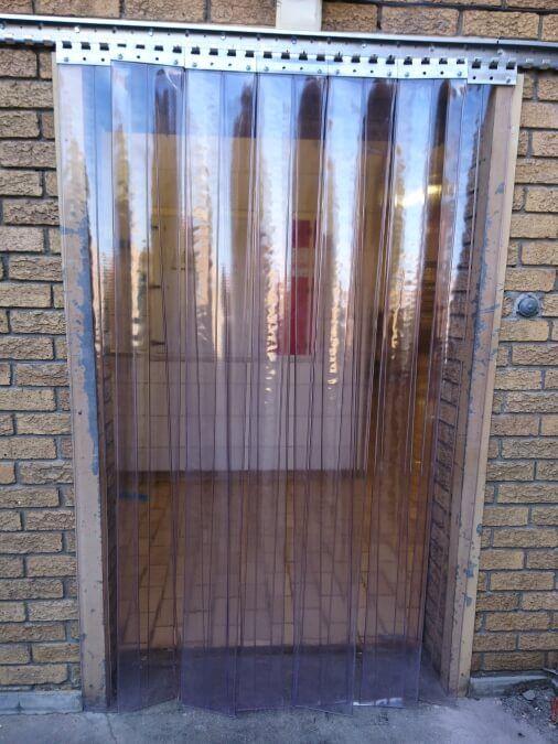Clear Strip Curtains