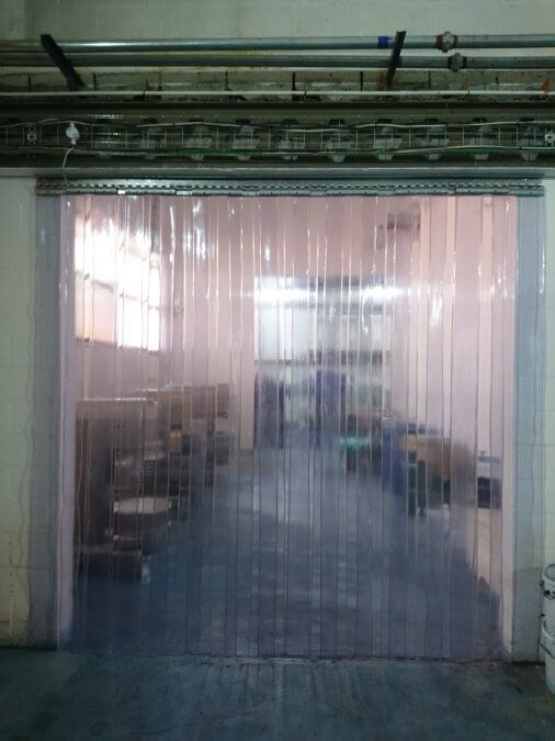 Clear Vinyl Curtains