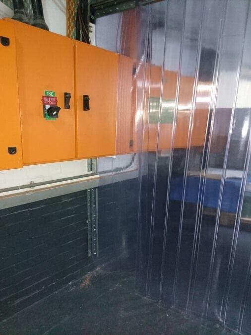 Clear Vinyl Curtains Industrial