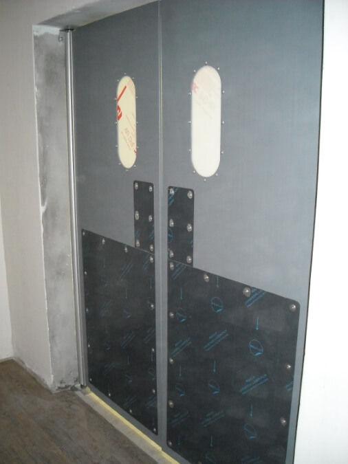 Commercial Kitchen Double Swing Door