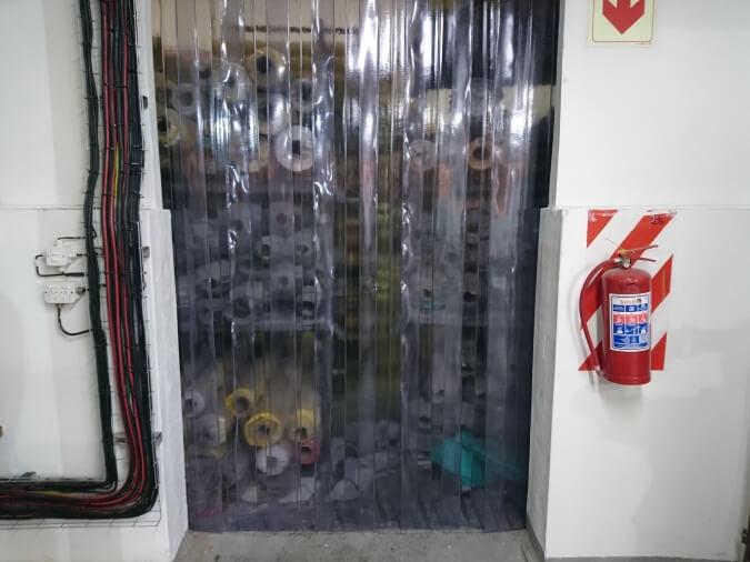 Heavy Plastic Curtain