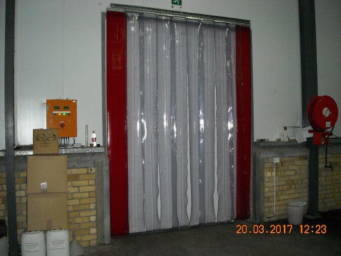 Industrial Freezer Curtains