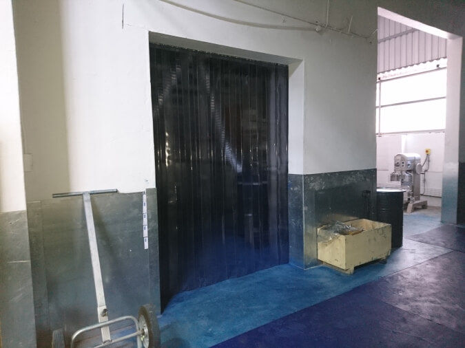Industrial Strip Curtain Doors