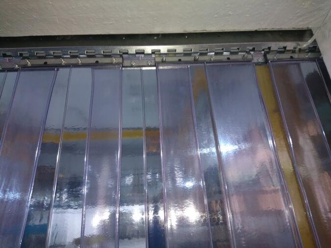 Industrial Vinyl Curtain Walls