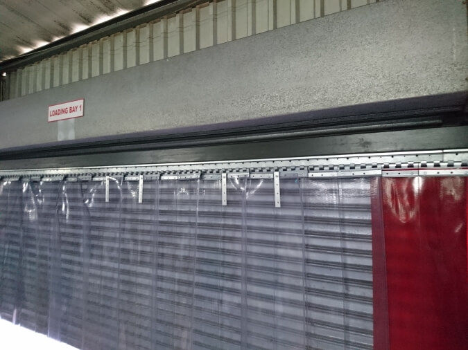 Industrial Vinyl Curtain Walls