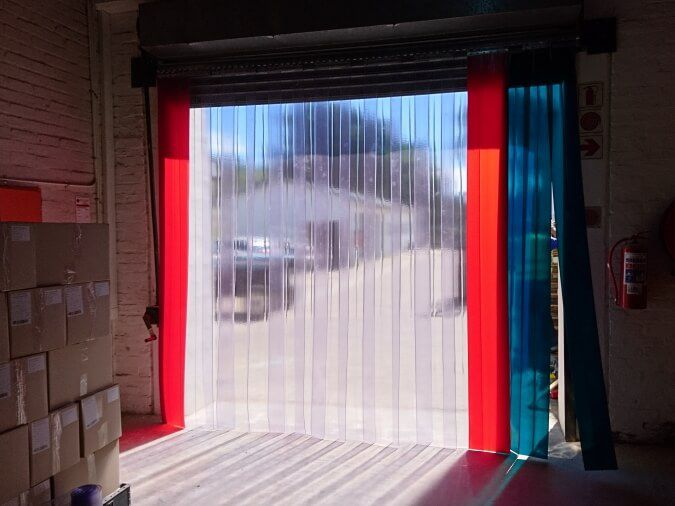 Loading Bay Door Curtains