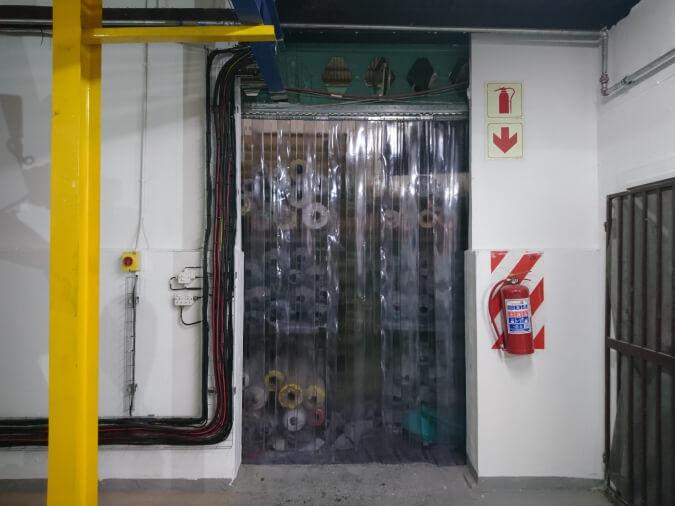PVC Clear Curtain