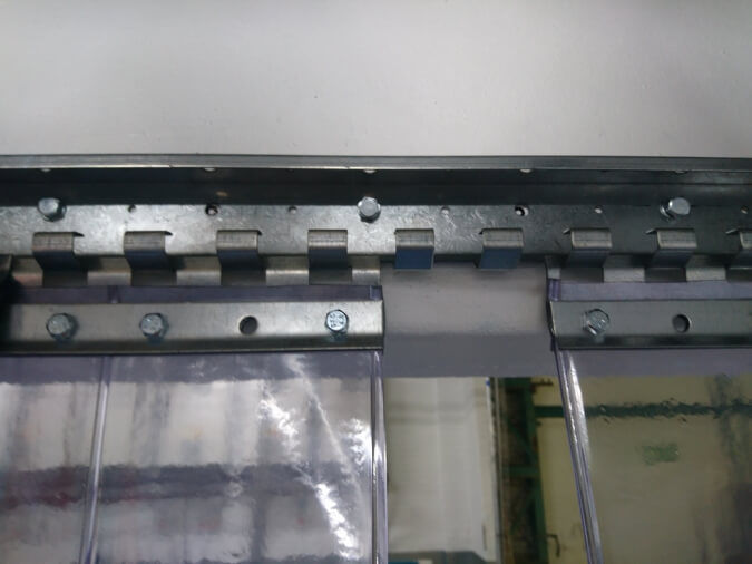 PVC Strip Curtain Rail