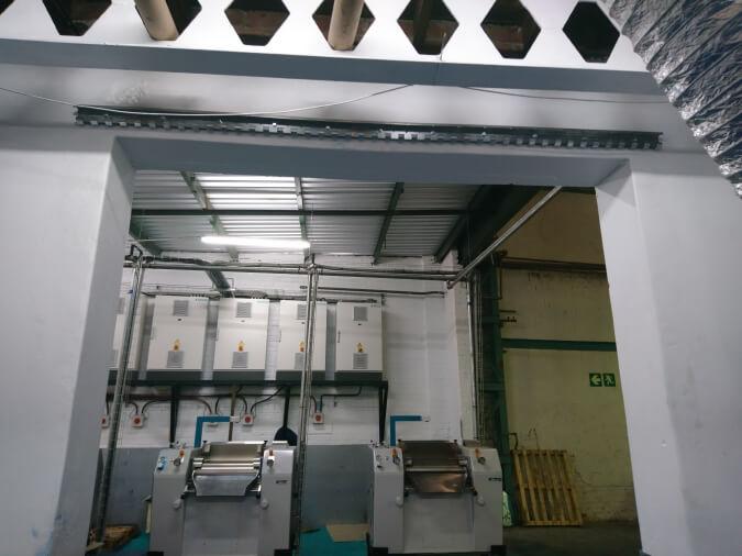 PVC Strip Curtain Rail