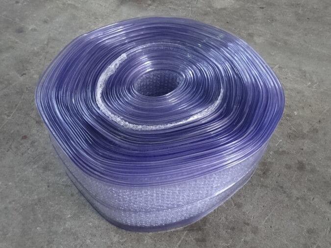 PVC Strip Curtains Bulk Roll 200 mm x 2 mm