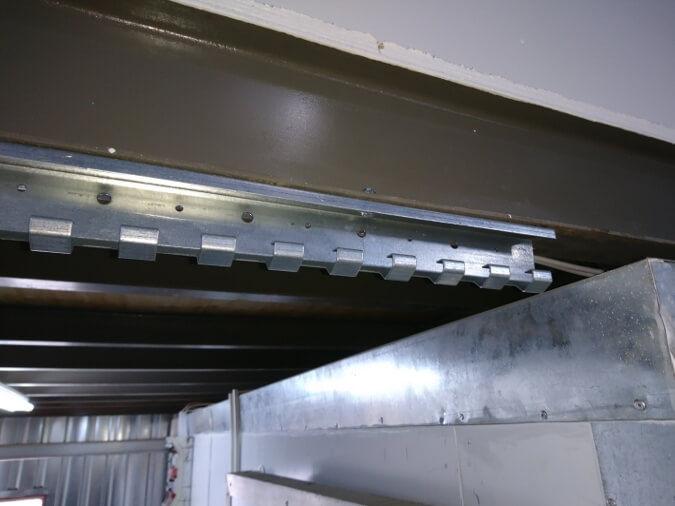 PVC Strip Curtains Hanging Rails