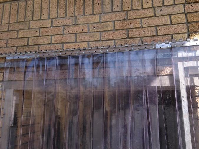 PVC Window Curtains