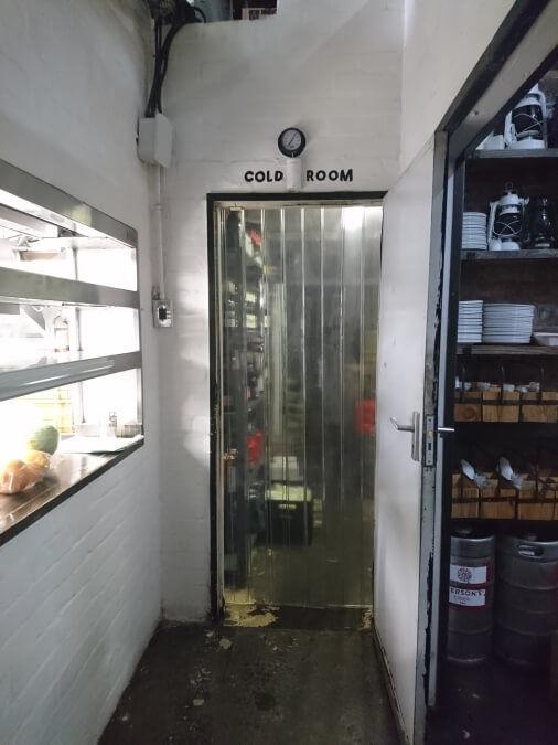 Plastic Butcher Doors