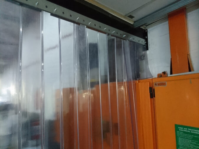 Plastic Curtains for AC