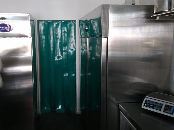 Plastic Door Screen Curtain