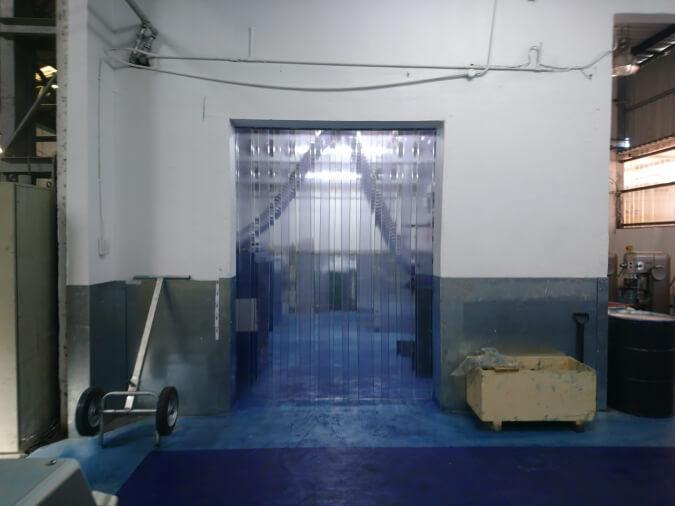 Plastic Dust Curtain