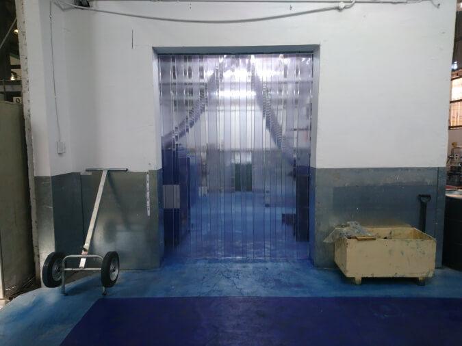Plastic Room Divider Curtain