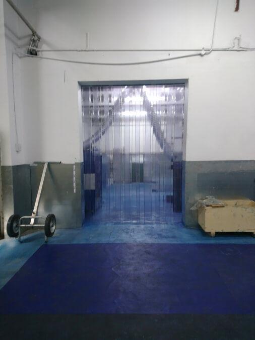 Plastic Walk Through Doors