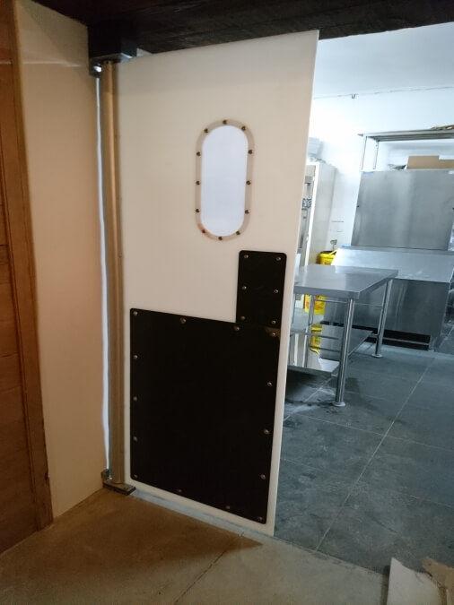 Restaurant Impact Doors