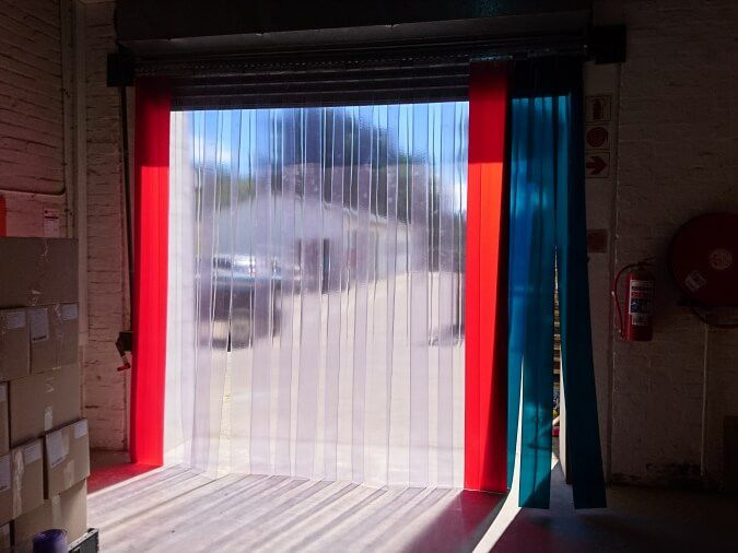 Roller Door Plastic Curtains