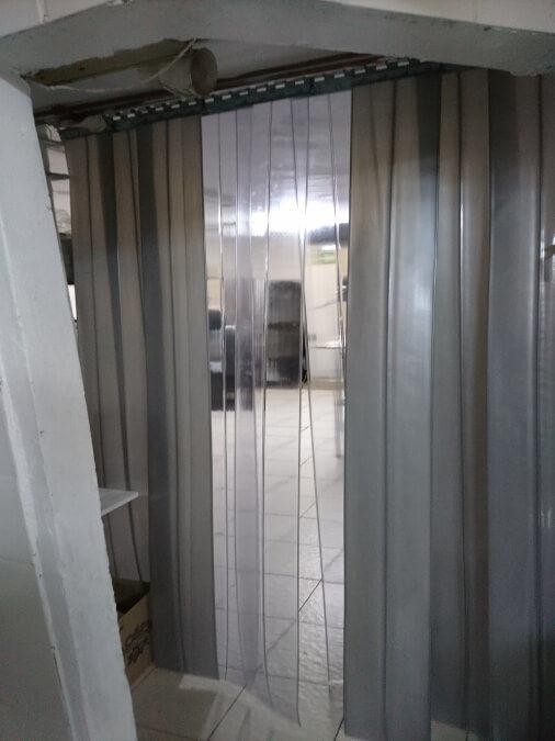 Silver PVC Curtain