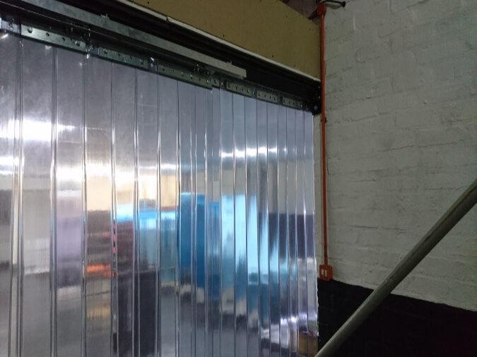Sliding PVC Strip Curtains