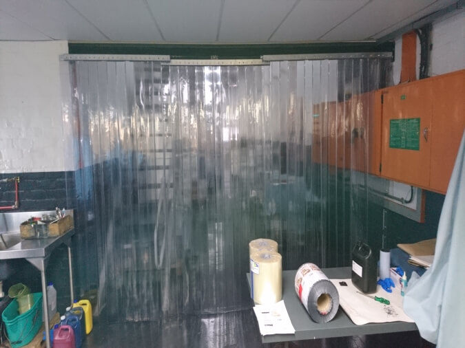 Sliding Plastic Strip Curtains