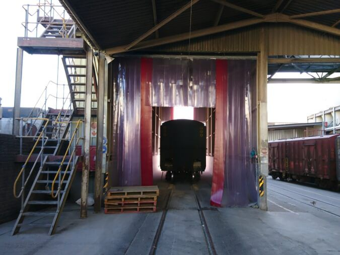 Warehouse Divider Curtains