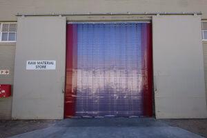 PVC warehouse curtains