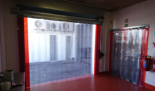 Beautiful sample of what pvc strip curtains are