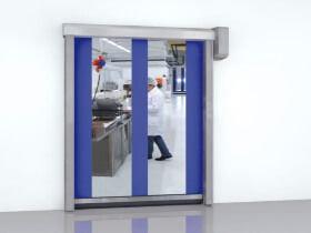 high speed roll up door by Assa Abloy