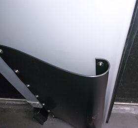 Duralite doors bumper black