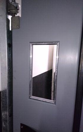 Commercial restaurant kitchen doors