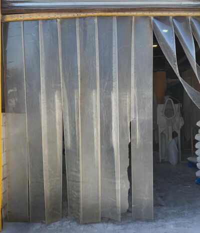 second hand PVC strip curtains