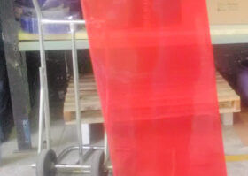 PVC welding curtain