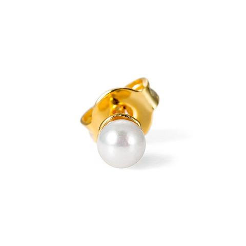Tiny Pearl Charm Nose Pin