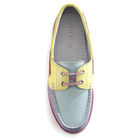 Diana Pastel Boat Shoes