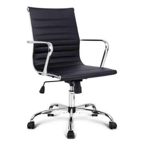 Eames Replica PU Leather Executive Computer Office Chair Black