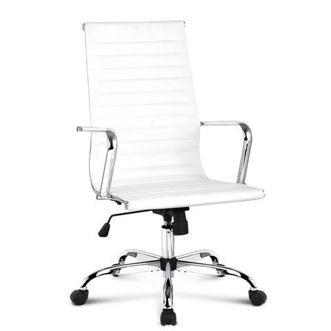 Eames Replica PU Leather HIGH BACK Executive Computer Office Chair White