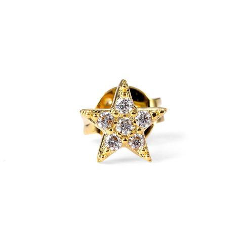 Angelic Star Nose Pin