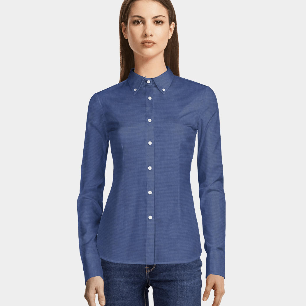 29bfa32c Fitted Button Down Shirts Ladies - DREAMWORKS